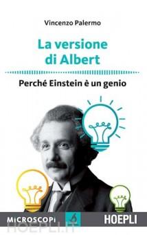 """La copertina del libro scritto da Vincenzo Palermo """"La versione di Albert"""""""