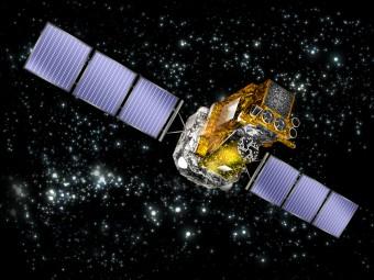 Il satellite INTEGRAL dell'Agenzia Spaziale Europea. Crediti: ESA