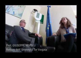 """L'intervista al Prof. Novelli realizzata dagli studenti dello """"Stage di Comunicazione e Divulgazione Scientifica"""" del 2015"""