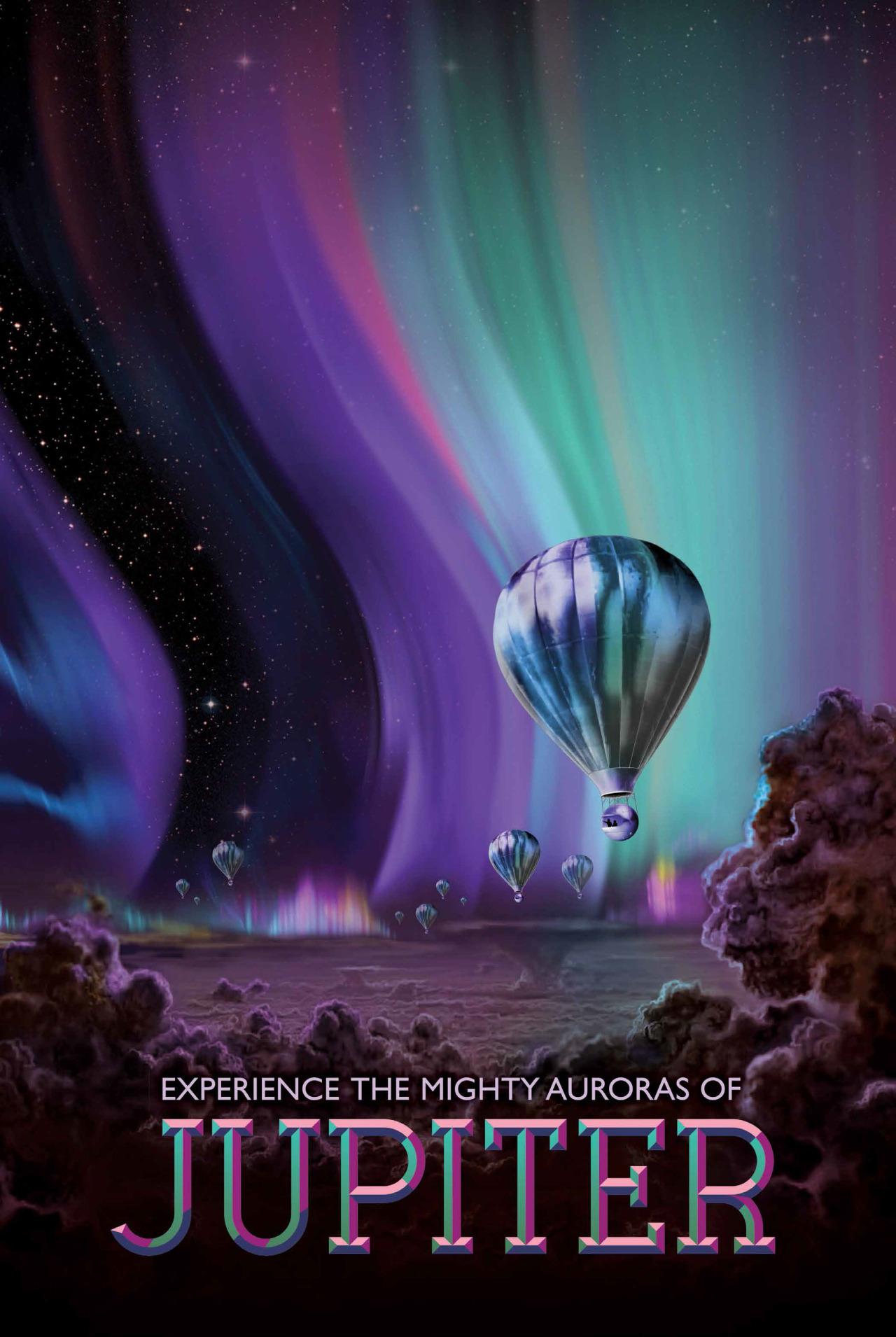 L'AURORA PIÙ BELLA? SU GIOVE.Preparatevi allo spettacolo di luci più sofisticato che abbiate mai visto da quando bazzicate gli spazioporti del Sistema Solare. Vi presentiamo: Giove e le sue aurore polari. Centinaia di volte più potenti di quelle che si possono osservare dal circolo polare terrestre. Un miracolo in technicolor. Crediti: NASA
