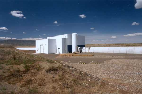 Mid-station, LHO. Crediti: LIGO Laboratory; Gary White (Hanford); Aero-Data, Mark Coles (Livingston)