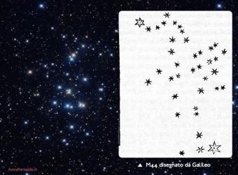Una rappresentazione artistica del pianeta più interno Pr0211b, uno hot Jiupiter con un periodo orbitale di 2 giorni. Nell'immagine l'artista ha rappresentato un possibile sfondo stellare estremamente denso tipico di un ammasso aperto. Il pianeta scoperto Pr0211c non è rappresentabile in scala perché, avendo esso un periodo di almeno 9 anni, sarebbe necessario disegnarlo a diversi metri di distanza dal primo. Crediti: NASA/JPL-Caltech