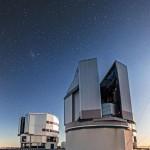 Il telescopio VST (VLT Survey Telescope). Crediti:  A. Tudorica/ESO