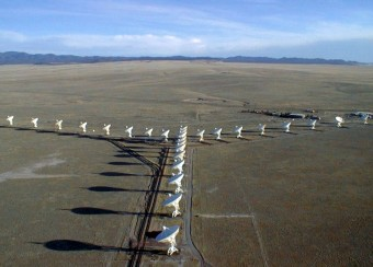 Il radiotelescopio Karl G. Jansky Very Large Array (VLA) in New Mexico (USA). Crediti: NRAO/AUI