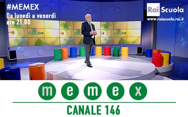 Il presidente INAF Nicolò D'Amico nello studio di Memex per parlare di radioastronomia. Le puntate realizzate saranno in onda dal 28 al 31 marzo