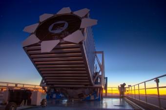 Il telescopio utilizzato per effettuare la campagna osservativa SDSS. Crediti: David Kirkby