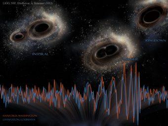 Crediti: LIGO, NSF, Aurore Simonnet
