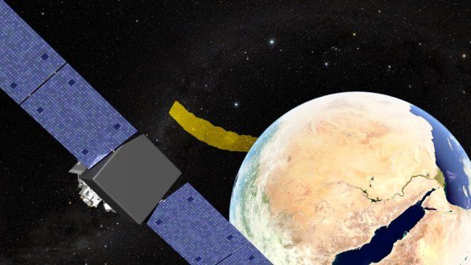 Incrociando i dati di Fermi e LIGO il campo di ricerca di riduce a 200 gradi quadrati. Il segreto dei lampi gamma è nascosto qui, da qualche parte. Crediti: NASA.