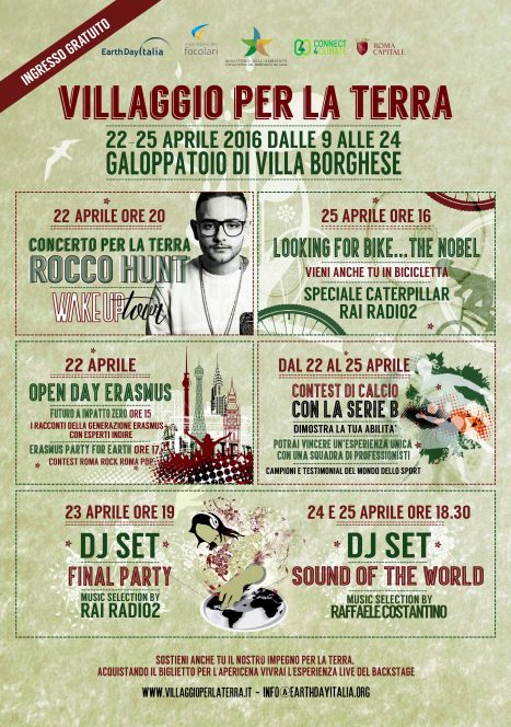 Crediti: Earth Day Italia.