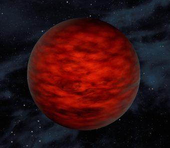 Rappresentazione artistica di una nana bruna. Crediti: NASA/JPL-Caltech