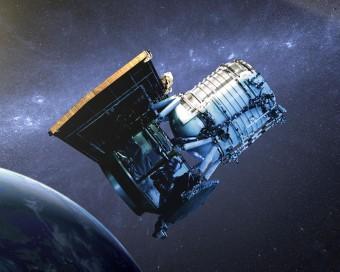 Rappresentazione artistica del telescopio spaziale WISE. Crediti: NASA/JPL-Caltech
