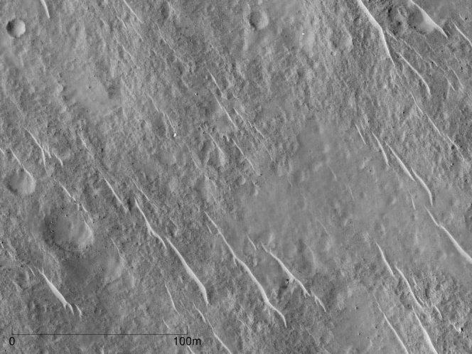 Il sito di atterraggio di Beagle 2. Crediti: Yu Tao and Jan-Peter Muller, UCL