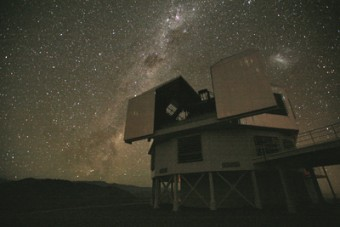 Il telescopio Baade in Cile. Crediti: Carnegie Institution