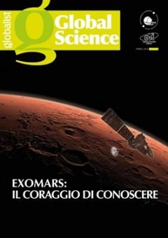 La coprtina del terzo numero di Global Science, numero tutto dedicato alla missione ExoMars.