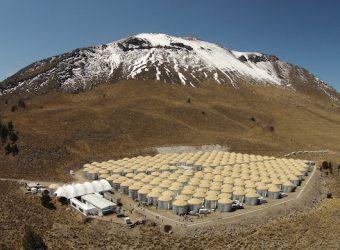 L'osservatorio HAWC in Messico. Crediti: collaborazione HAWC