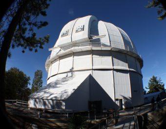 Uno dei telescopi dell'Osservatorio di Mount Wilson, grazie ai quali è stato possibile condurre la ricerca sulle subgiganti. Crediti: Mark R. Lane