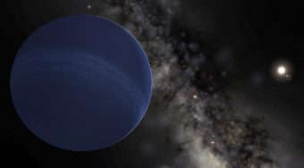 Rappresentazione artistica del Planet Nine. Crediti: Wikipedia