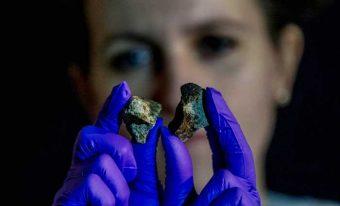 Frammenti di meteoriti