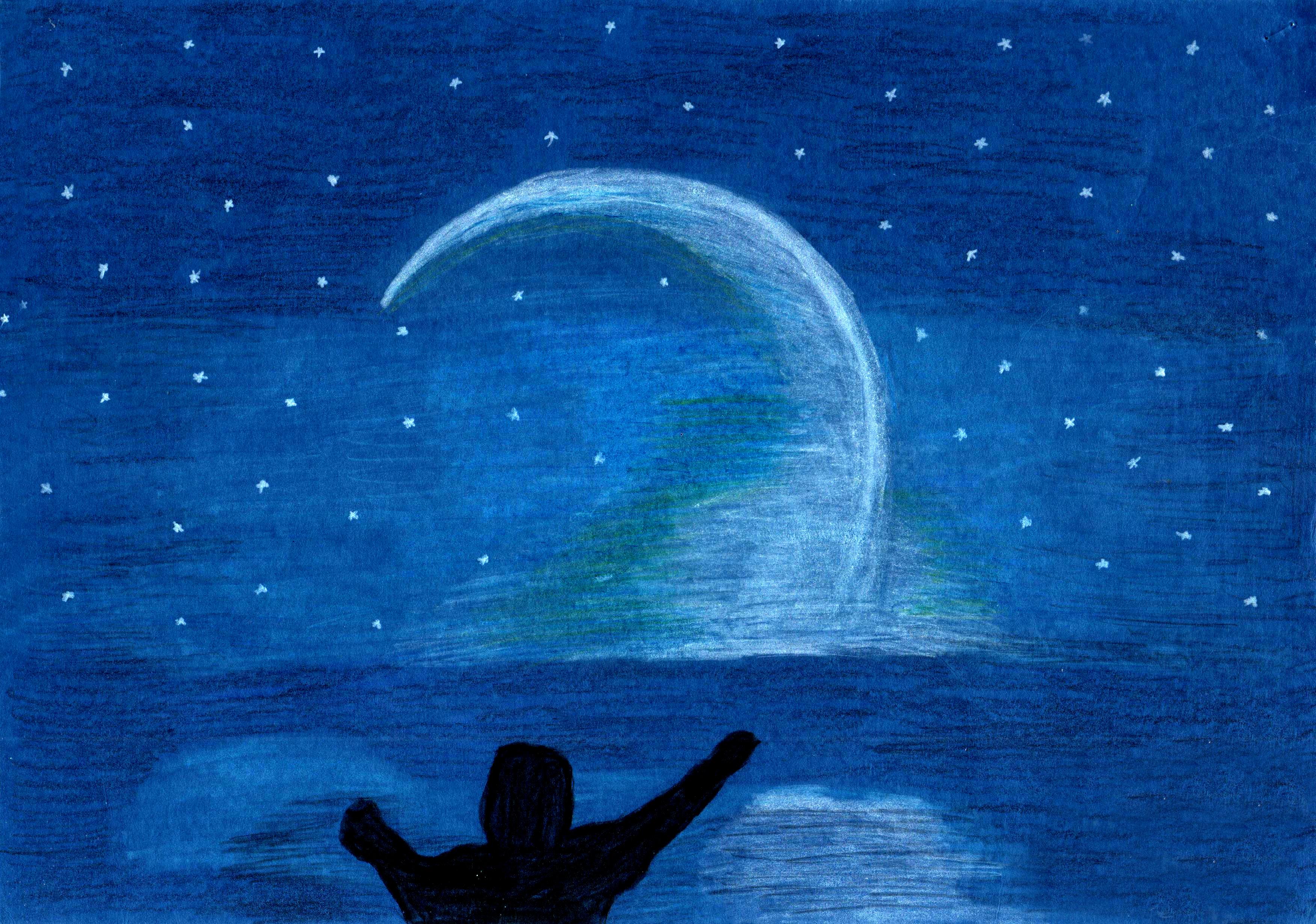 """""""Meraviglia del cielo"""", di Mariapia (7 anni)"""