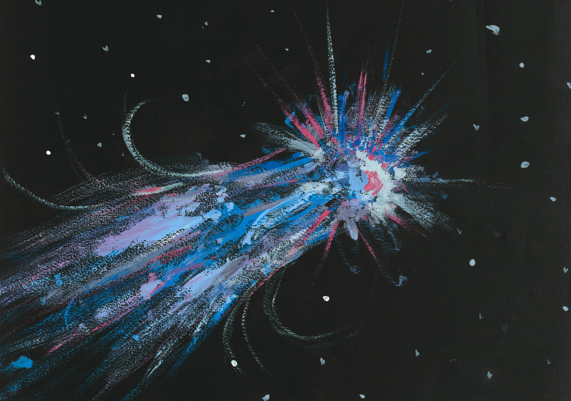 """""""Il viaggio della cometa"""", di Guendalina (11 anni) e Margherita (11 anni)"""