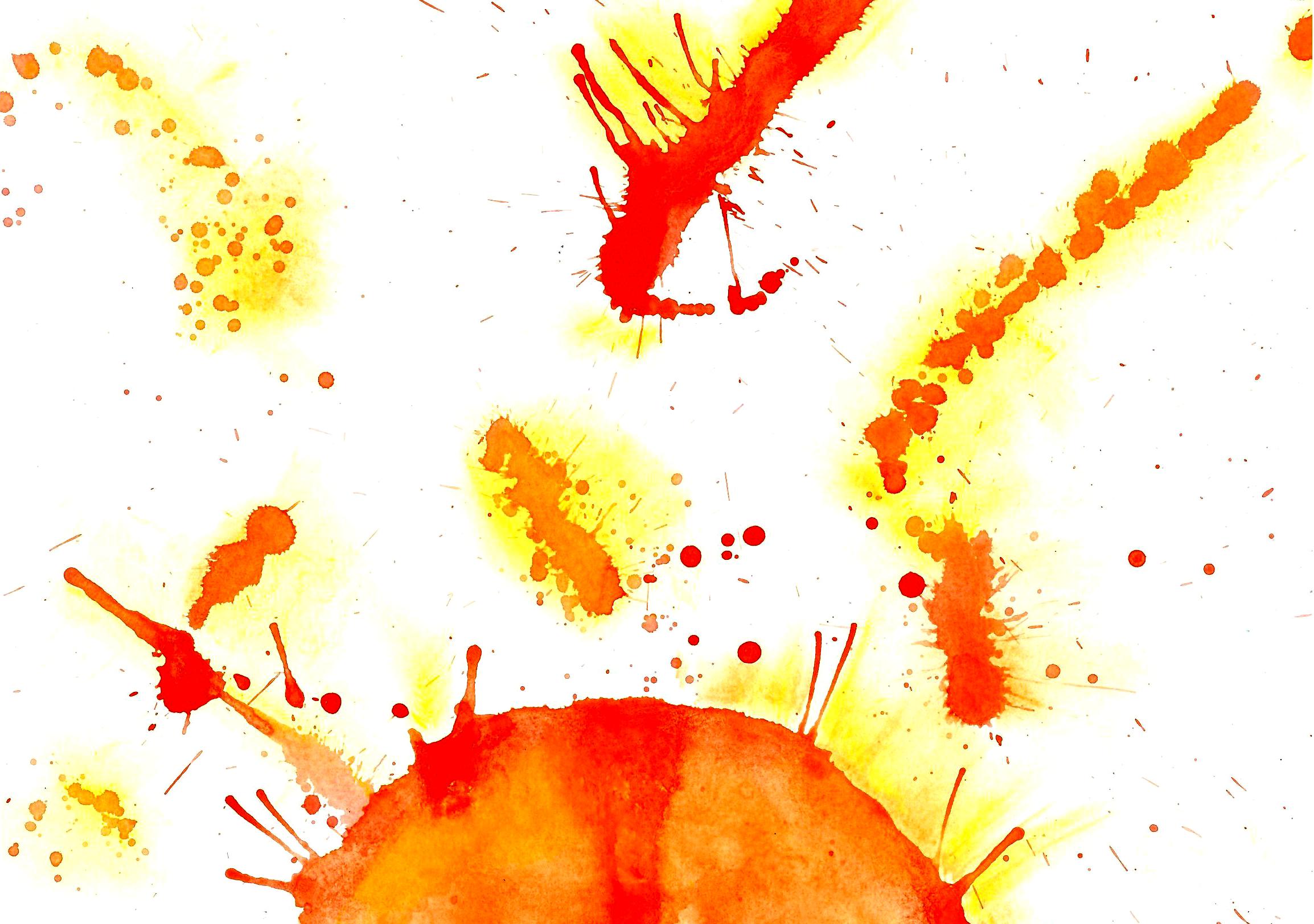 """""""L'esplosione solare"""", di Beatrice (11 anni)"""