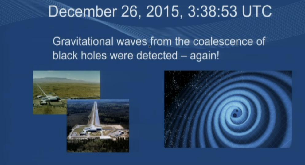Ligo onde gravitazionali per fusione di due buchi neri