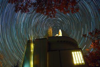 La stazione astronomica di Loiano in una foto di Daniele Gasparri)