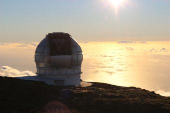 Gran Telescopio CANARIAS. Crediti S. Parisini, INAF
