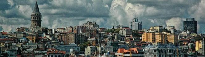 Il panorama di Istanbul nella locandina della 41esima edizione dell'assemblea generale COSPAR.