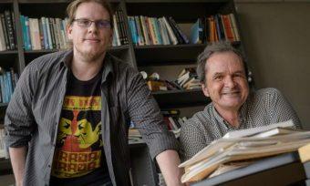 Matt Weller, a sinistra, e Adrian Lenardic, autori dello studio che amplia la nostra conoscenza del concetto di abitabilità planetaria. Crediti: Jeff Fitlow/Rice University