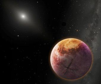 Una rappresentazione del Pianeta X, l'ipotetico nono pianeta del Sistema solare. Per gentile concessione di Robin Dienel