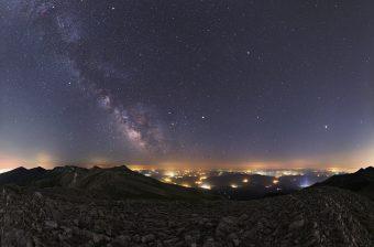 La Via Lattea e i pianeti estivi. Panorama notturno dal parco nazionale di Uludag, in Turchia. Fonte: NASA APOD. Crediti: Tunç Tezel/TWAN