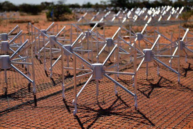 Le antenne MWA in Australia