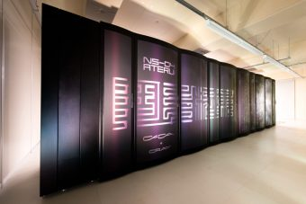 Il super computer ATERUI, un Cray XC30, usato in questo lavoro. Crediti: NAOJ