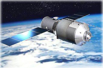 Rappresentazione artistica del laboratorio spaziale cinese Tiangong 1. Crediti: CMSE