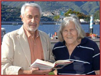 Corrado Lamberti e Margherita Hack