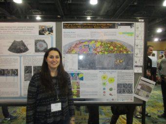 Valentina Galluzzi, geologa planetaria all'INAF IAPS di Roma, vincitrice del premio GIGS 2016
