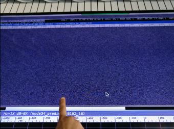 Il segnale doppler che conferma l'avvenuta separazione. Fonte: canale Twitter dell'ESA