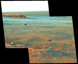 Meteoriti su Marte (Victoria-crater)