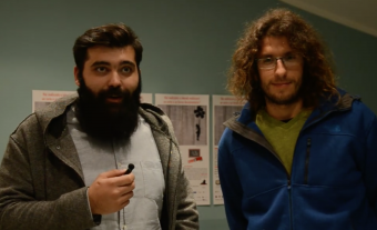 Andrea Porcu (a sinistra) e Paolo Giacobbe (a destra).