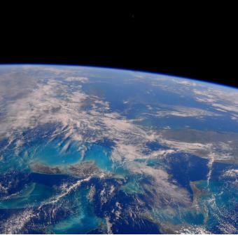 I Caraibi vista dalla Stazione Spaziale Internazionale. Foto del 25 aprile 2016