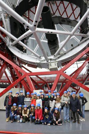 Studenti del Gobetti-Volta in visita al Gran Telescopio Canarias sull'isola di La Palma, alle Canarie