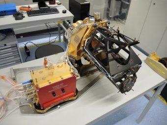 Lo strumento CaSSIS (Colour and Stereo Surface Imaging System). Crediti: Università di Berna