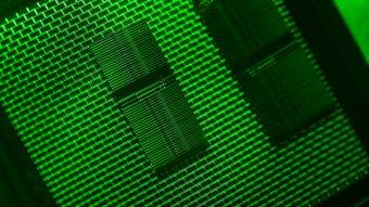 Il nuovo chip per telescopi Credit: Stuart Hay, ANU