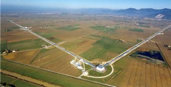 L'interferometro Virgo, nella campagna pisana