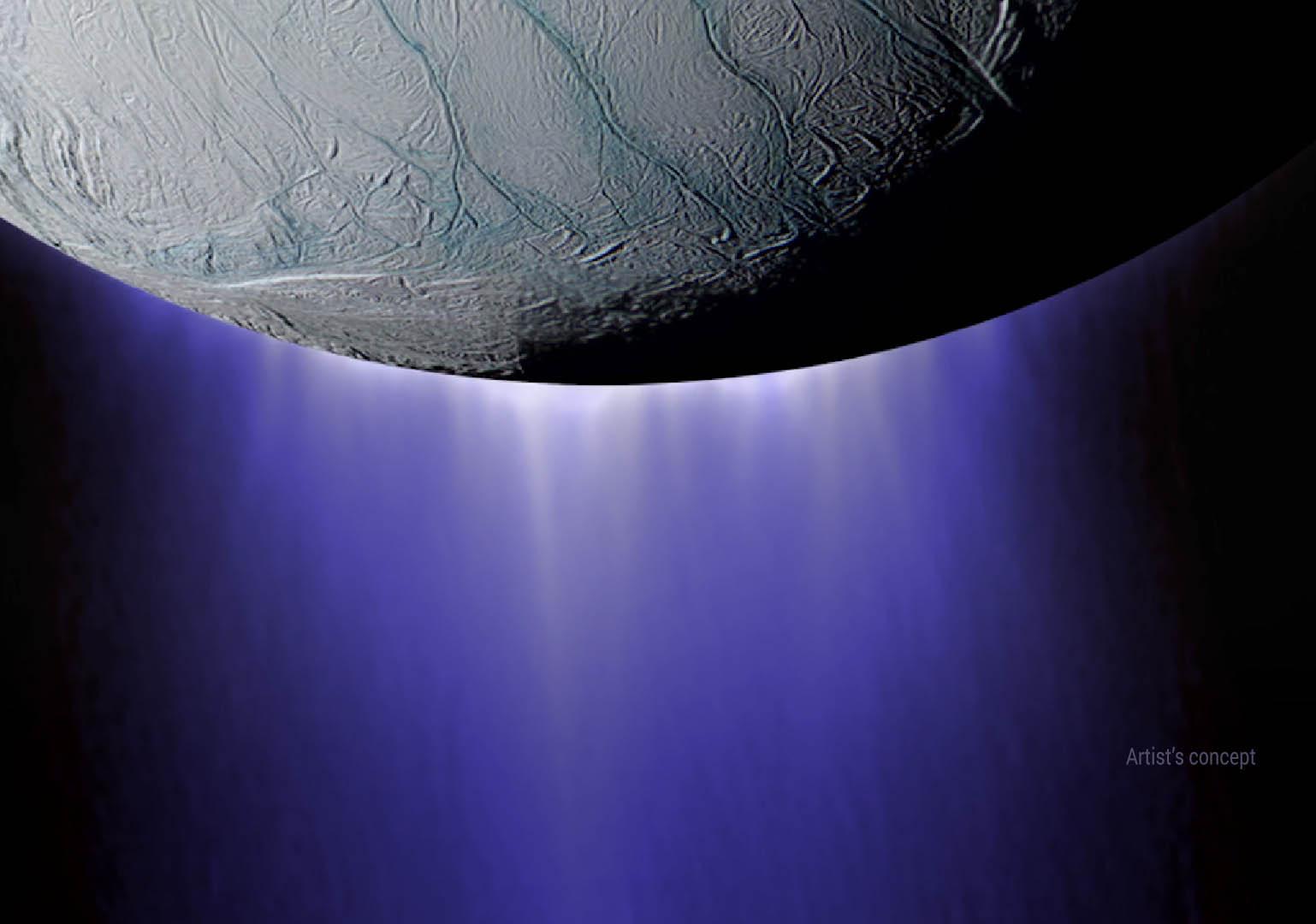 Encelado potrebbe ospitare forme di vita