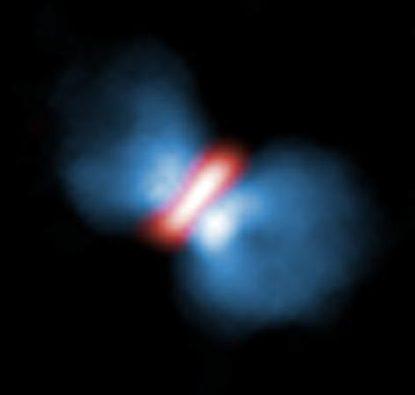 Cosa frena la rotazione di una stella massiccia