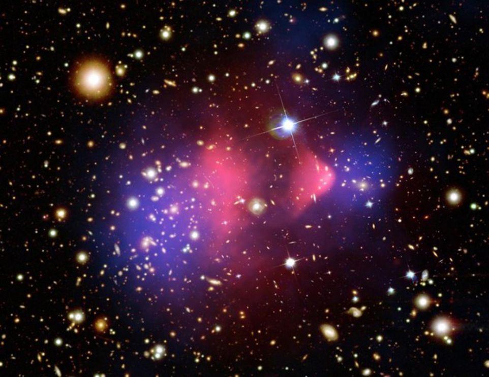 Aloni di dark matter, gli scheletri delle galassie