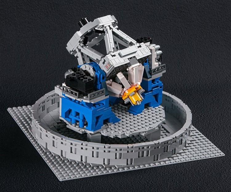 Il mio grande grosso osservatorio Lego