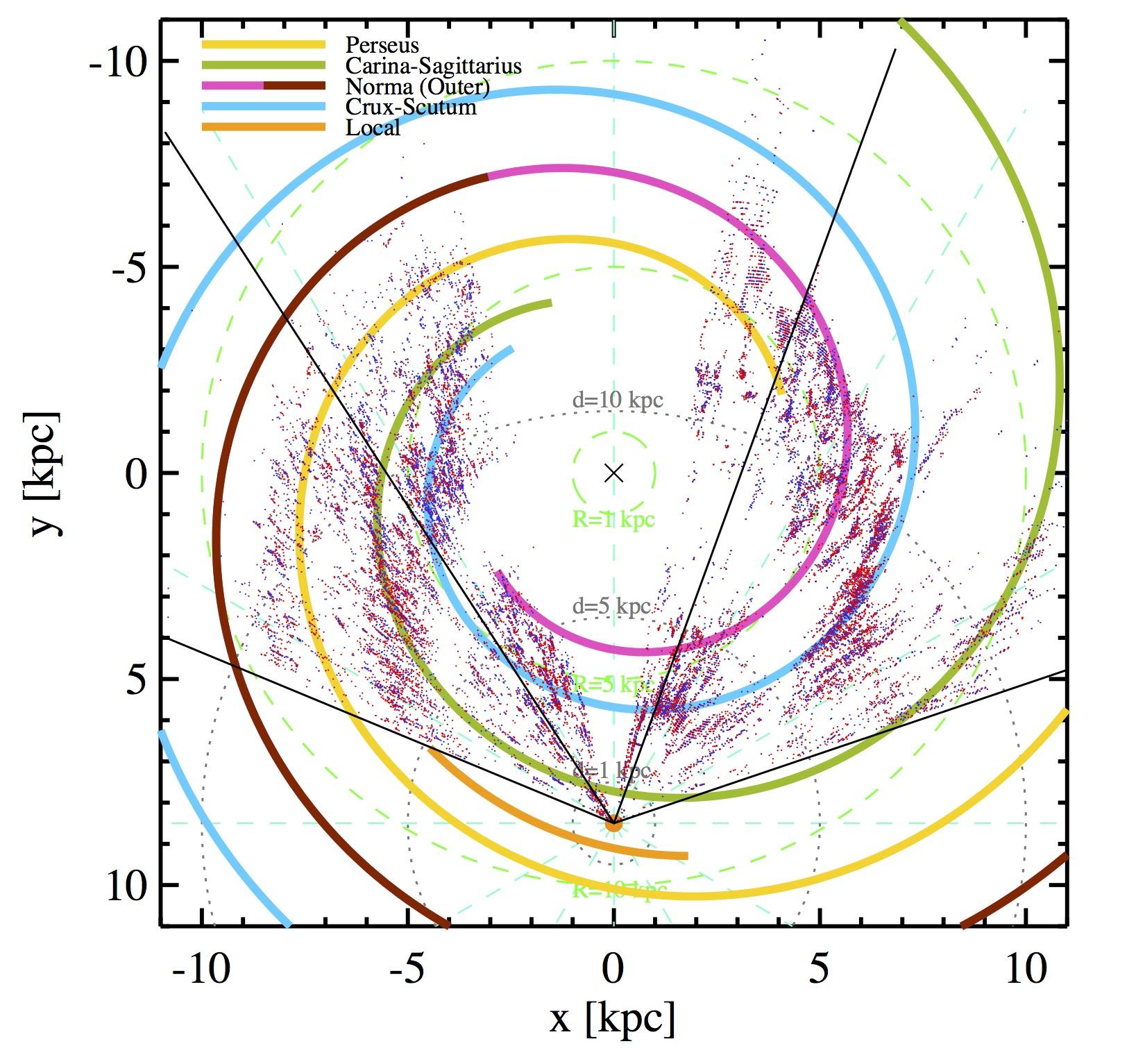 Via Lattea, metà è materia ''migrante'' extragalattica: il vento spaziale